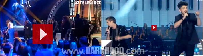 Gospel Factory + Marlene Diva en La Voz Telecinco (video)_www-DARKHOOD-com