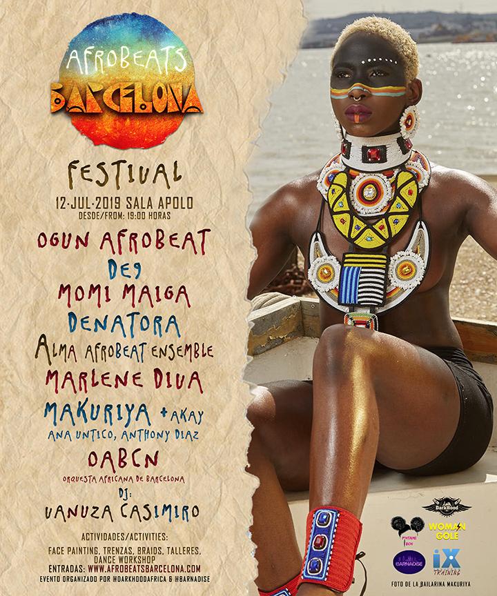 Afrobeats Barcelona Festival | Dark Hood